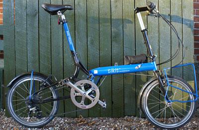 TEST: Bike Friday Tikit | CYKELPORTALEN