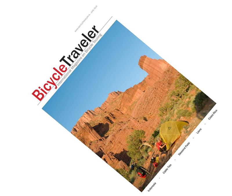 Nyt nummer af Bicycle Traveler