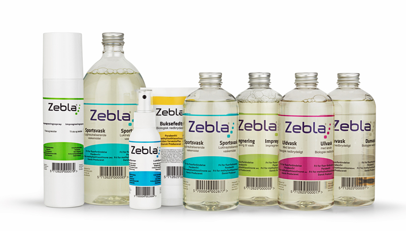 Nye produkter fra Zebla Sports