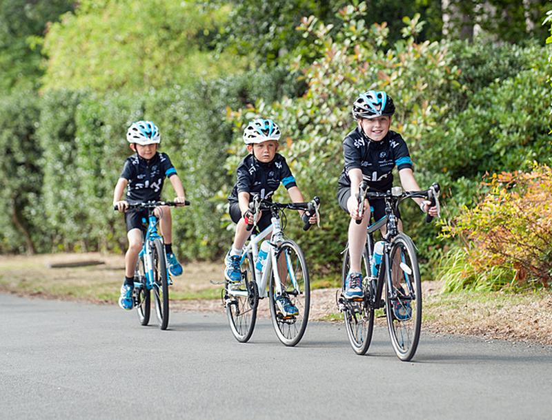 Team Sky og Frog Bikes lancerer racercykler til børn