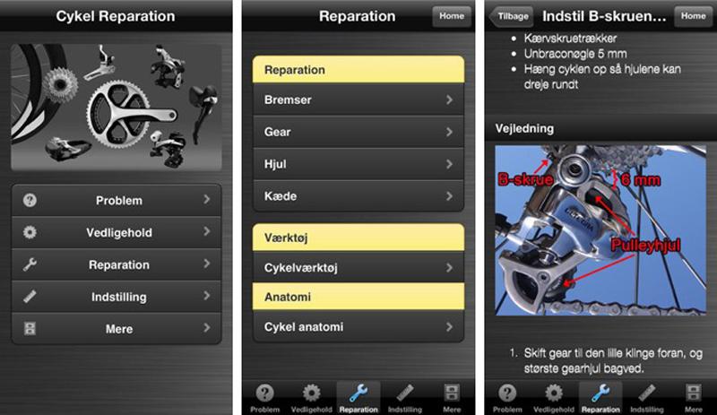 Hent Cykel Reparation App gratis idag
