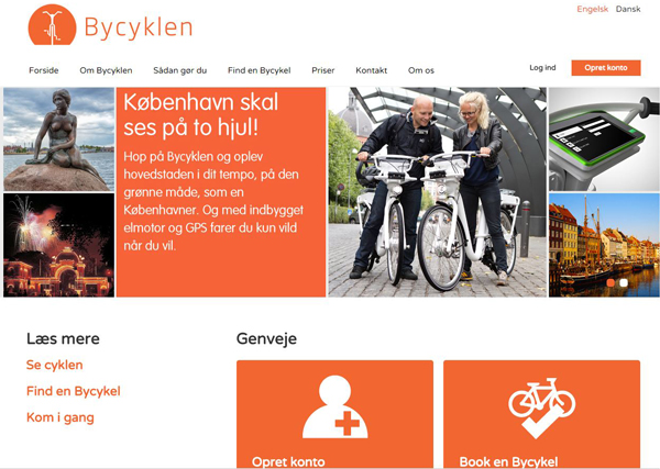 bycykel