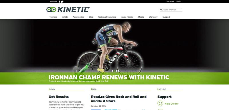 Kinetic lancerer ny hjemmeside