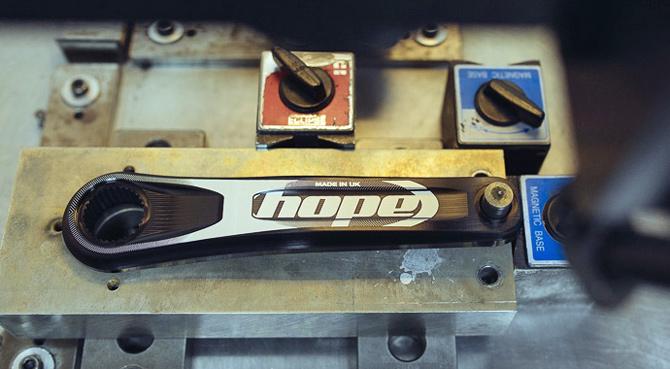 Europæisk udviklet og produceret kranksæt fra Hope Tec