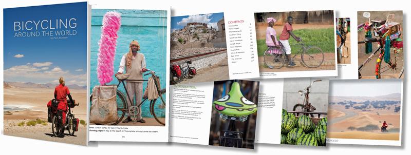 Billedindtryk fra en cykeltur jorden rundt