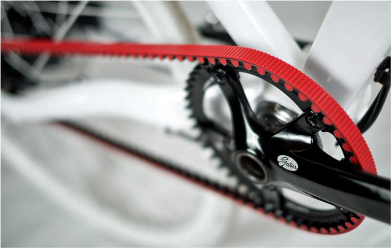 RØDT det nye sorte for designbeviste cyklister
