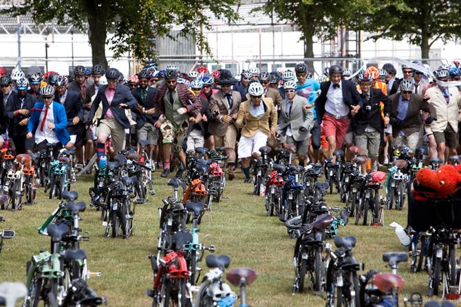Deltag i verdens sjoveste cykelløb