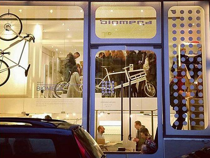 Biomega åbner butik i København