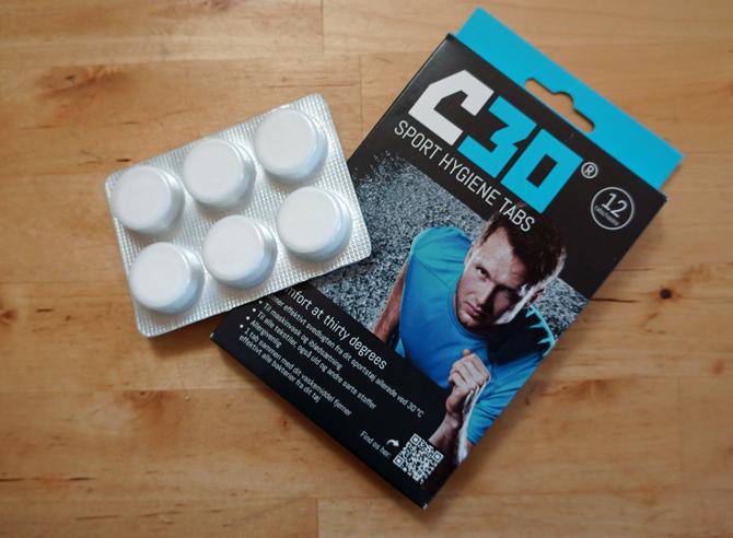 Test: C30 Sport Hygiene Tabs