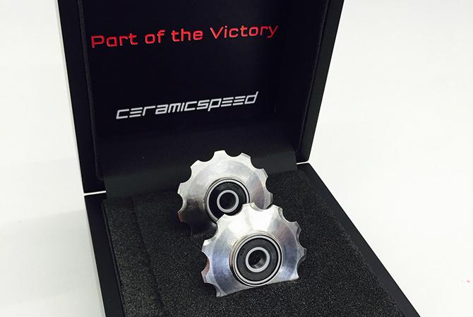 3D printede hule pulley hjul til cykler