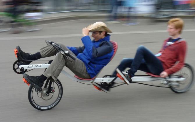 sjove cykler i Sydtyskland