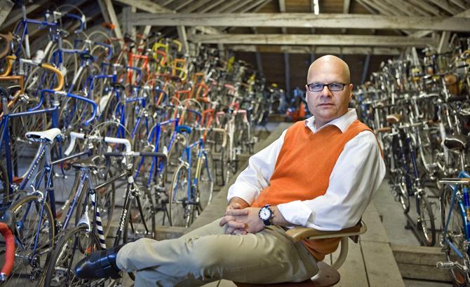 Verdensberømt cykelsamling solgt til private samlere.