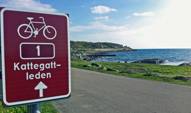 Sveriges første nationale cykelrute indviet