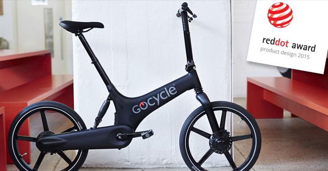 GoCycle G2 vinder Red Dot designpris