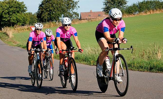 Cykelløb kræver samarbejde