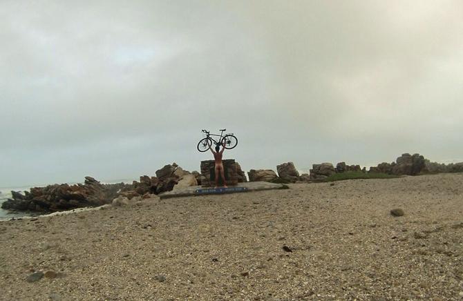 På cykeltur til Sydafrika