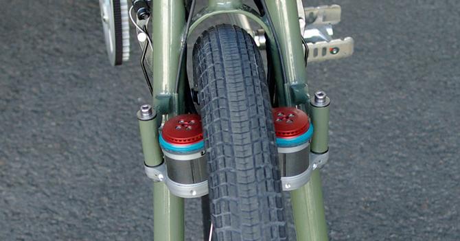 Foldecykel med banebrydende elmotor
