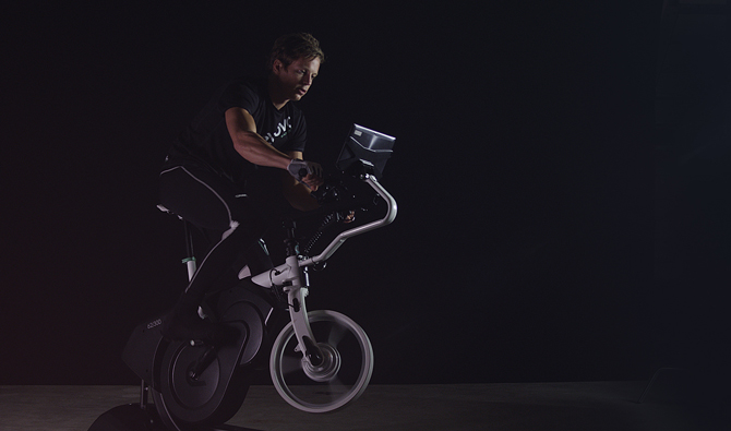 Ny realistisk cykelsimulator