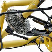 Liniært gearskift fra Hase Bikes