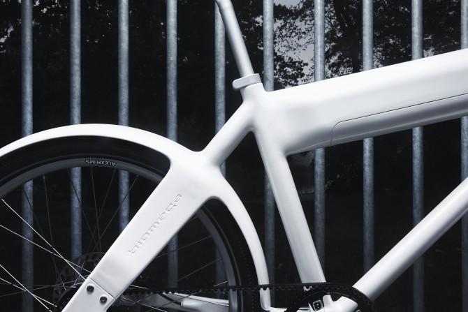 første elcykel fra Biomega