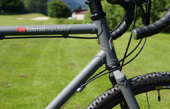 TEST: vsf Fahrradmanufaktur CR500