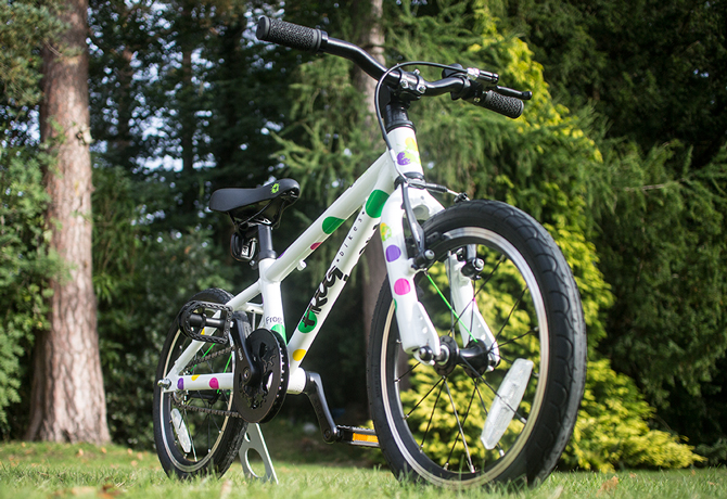 Optimeret krank på børnecykler