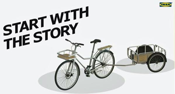 Ikea-Cykel