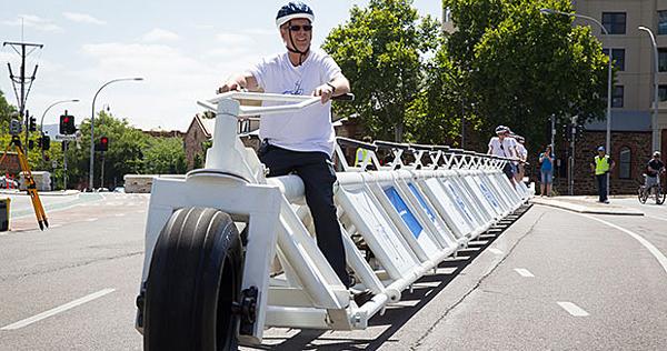 Verdens længste cykel | CYKELPORTALEN
