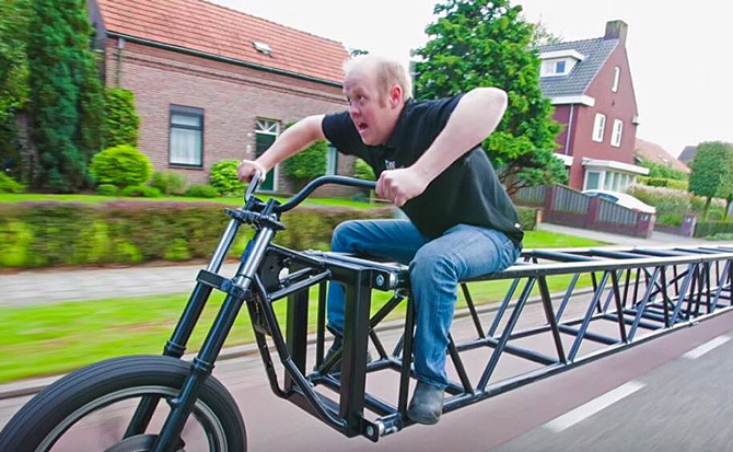 Verdens længste cykel