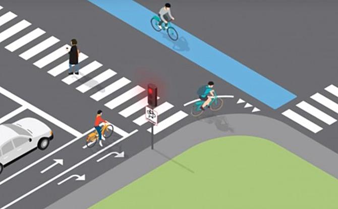 Godt nyt for højresvingende cyklister