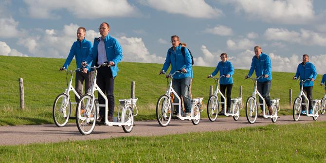 Nu skal løbebåndet ud på cykelstien