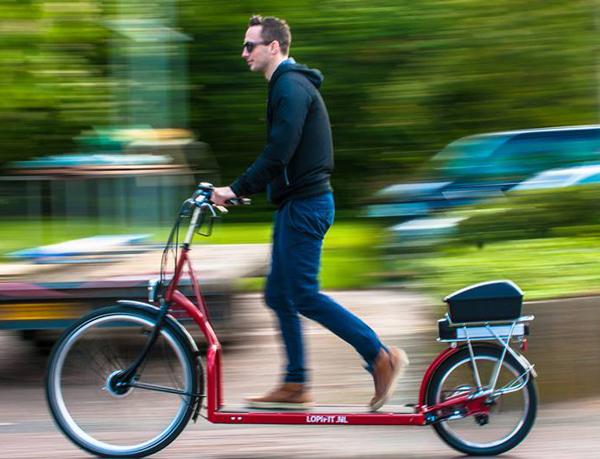 Nu skal løbebåndet ud på cykelstien | CYKELPORTALEN