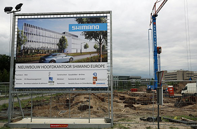 Nyt Europæisk Shimano hovedkvarter