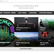 Nyt design på  Cykelportalen