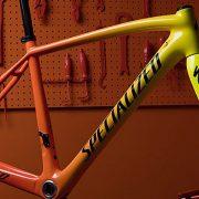 Cykel der skifter farve