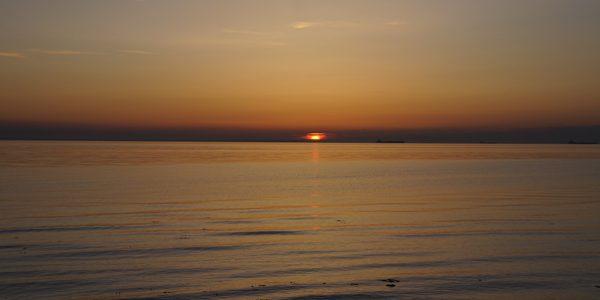 På jagt efter solnedgangen