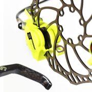 En skivebremse klassiker kommer i gult