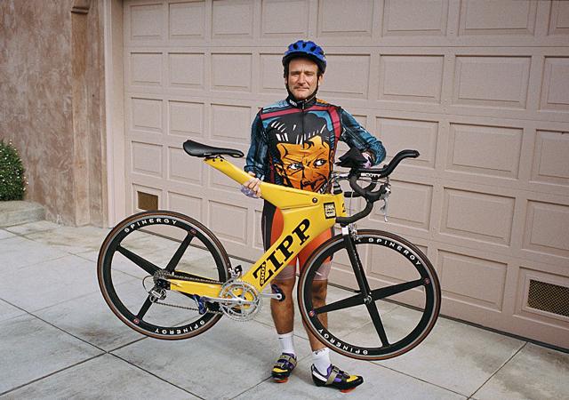 Robin William's mange cykler