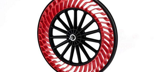 Dæk uden luft og slange fra Bridgestone
