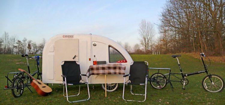 En rigtig campingvogn…