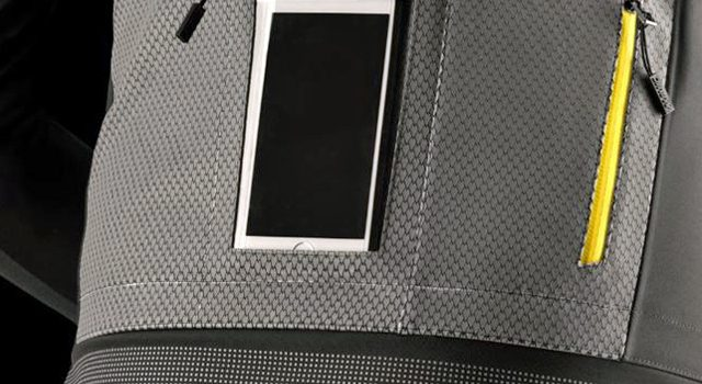 Smartphone funktionalitet i ny Mavic jakke