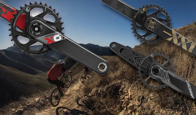 Nye mountainbike kranksæt fra SRAM