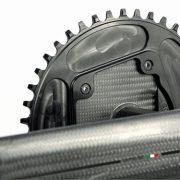 Aero optimeret kranksæt fra 3T Cycling