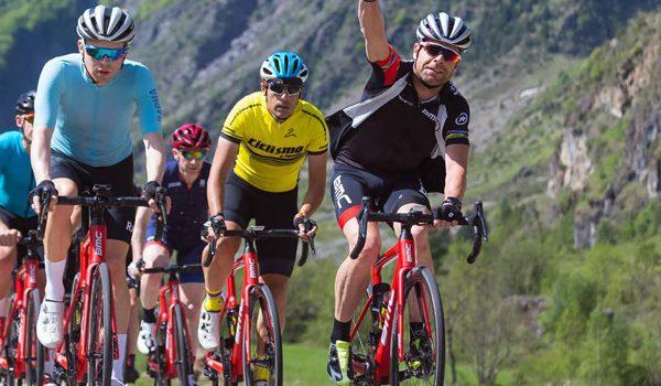 Vind en cykeltur og få en snak med Cadel Evans
