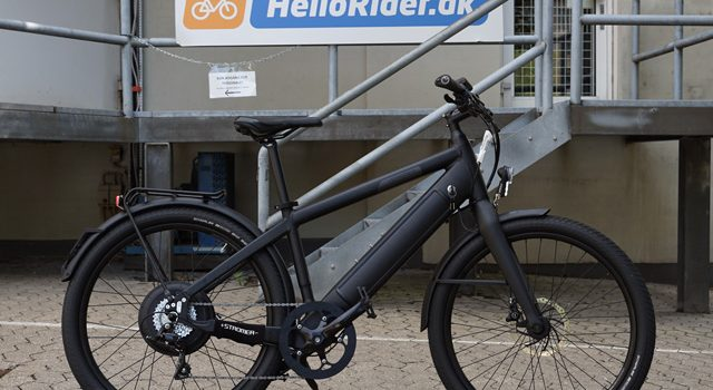 BESØG: Elcykler skal prøves