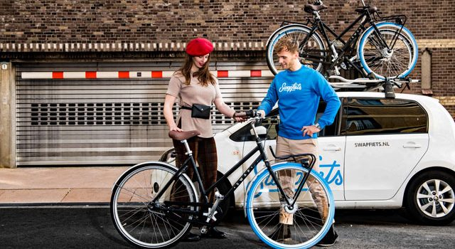 Swapfiets åbner de tre første butikker i København, Århus og Odense