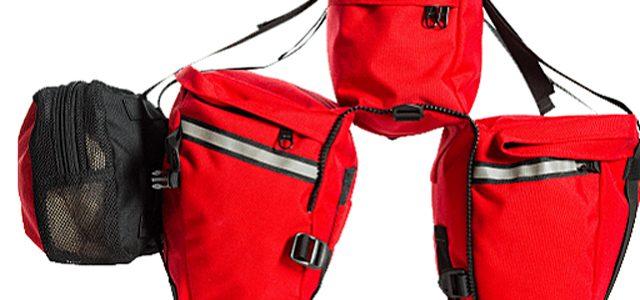Genialt taskesystem for den rejsende Back- og Bikepacker.