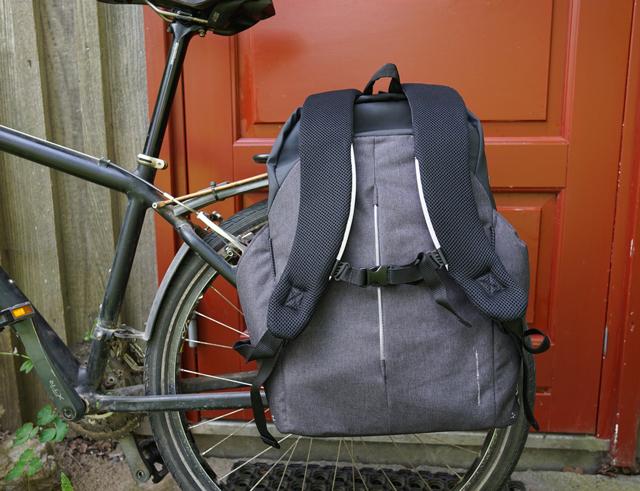 TEST: Basil B-Safe Backpack Nordlight