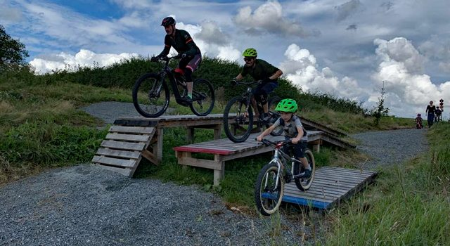Ny mountainbike teknikbane ved Brandbjerg