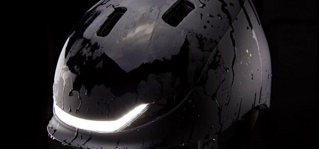 Cykelhjelm blåstemplet af Apple